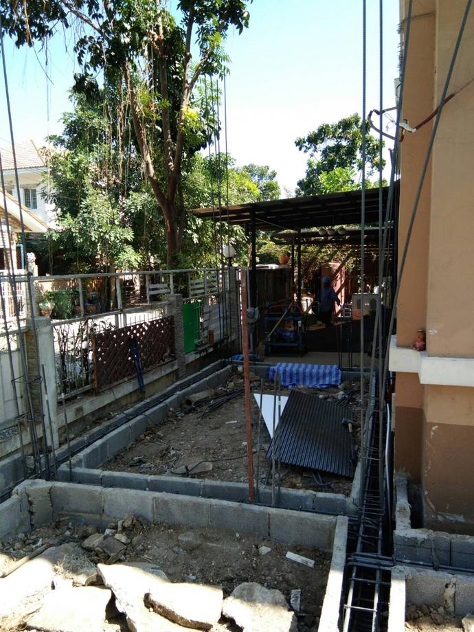 งานต่อเติมบ้าน 2 ชั้น หมู่บ้านแลนซิโอ